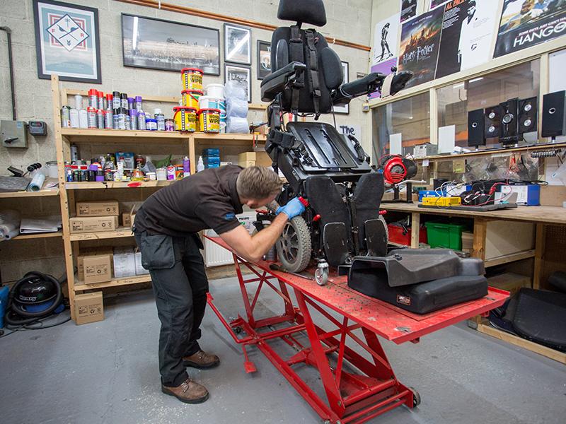 Wheelchair repair service in San Diego Chula Vista