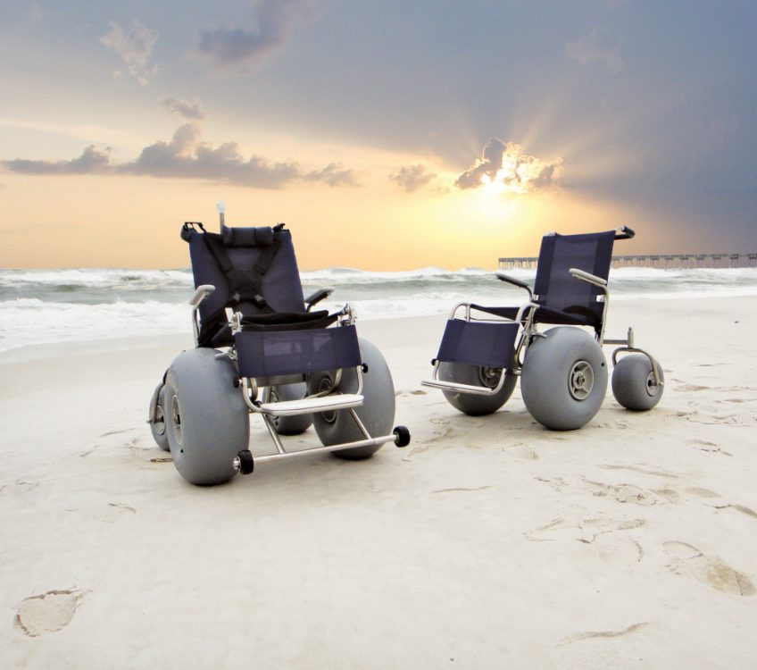 Beach Wheelchair for rent in San Diego