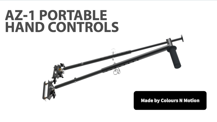 AZ-1 Portable Hand Controls Brought to you by Colours